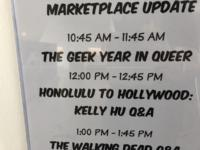 Panel at Honolulu Comic Con 2018