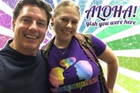John Barrowman, Honolulu Comic-Con 2016 (Edited for an item fo GISHWHES 2016, Team Subtext)