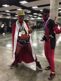 Deadpool cosplayers are always fun, Kawaii Kon 2017