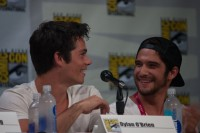 Dylan O'brien and Tyler Posey, Ballroom 20, 2014