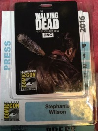 SDCC 2016 press badge