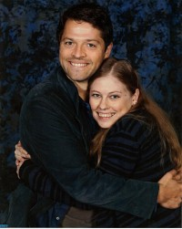 Misha Collins and me Salute to Supernatural - Burbank 2012