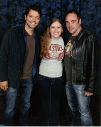 Misha Collins and Mark Sheppard, Burbank SPN Con 2011