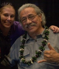 Me and Edward James Olmos, Honolulu Comic Con 2015
