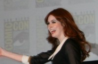 Karen Gillan at the Doctor Who panel, SDCC 2011