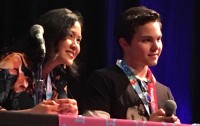 Deedee Magno Hall and Zach Callison, Kawaii Kon 2017