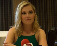 Eliza Taylor, The 100 Press Panel, SDCC 2015