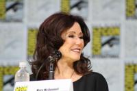 Mary McDonnell at the BSG panel at SDCC 2017