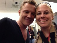 Me and Chris Egan, SDCC 2014