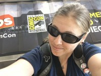 At the airport SDCC 2016