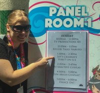 My panel is on the board! Kawaii Kon 2017